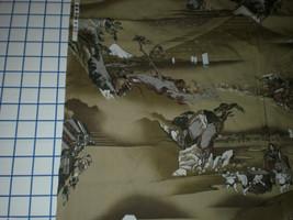 "Kona Bay Fabrics 2002 Asian Warrior village Oreintal Samurai 35"" Long OOP - $17.95"