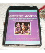 Jones Boys Orchestra GEORGE JONES Country & Western Song Book 8 track tape - $24.95