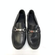 Cole Haan Mens Horse Bit Pebble Grain Leather Casual Loafers Sz 9M (SH-104) image 2