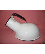 Vintage Enamelware Hospital Bed Use Urinal Roun... - $9.99
