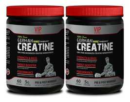 Ultra Boost Energy - German Micronized Creatine 300G - Muscle Recovery 2 Can - $40.16