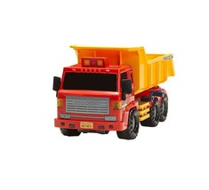 Daesung Toys Super Dump Truck and Concrete Mixer Car Vehicle Heavy Equipment Set image 2