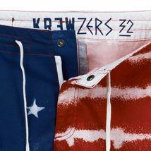 Kr3w Mens Medicate America USA Stars % Stripes Swim Surf Board-Shorts NWT image 5