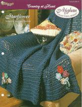 Needlecraft Shop Crochet Pattern 952170 Starflower Afghan Collectors Series - $4.99