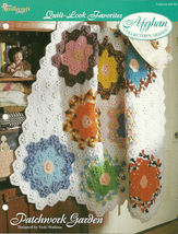 Needlecraft Shop Crochet Pattern 952180 Patchwork Garden Afghan Collecto... - $4.99
