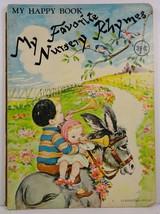 My Favorite Nursery Rhymes My Happy Book Doeisha Publication - $6.99