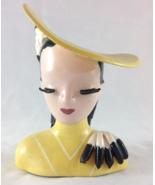 Betty Lou Nichols Vintage Ermyn-Trude Head Vase... - $300.00
