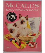 McCall's Easy Sewing Book 1960 - $6.99