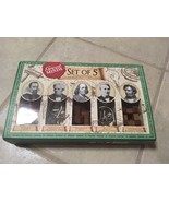 Puzzle Games Set Of Five Great Minds - $10.69
