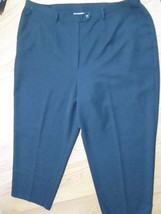 SAG HARBOR LADIES BLACK DRESS PANTS SIZE 18W - $323,24 MXN