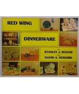 Red Wing Dinnerware Stanley J Bougie David A Newkirk Signed - $39.99
