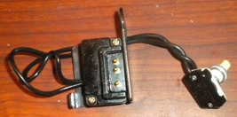 Kenmore Free Arm 158.1355080 Terminal Block #48875 w/On-Off Switch - $12.50