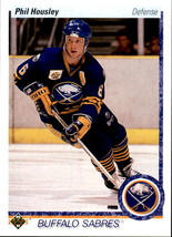 Phil Housley 1990-91 Upper Deck Card #22 - $0.99