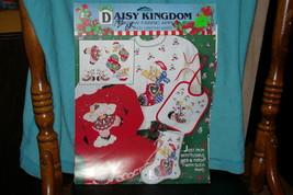 Daisy Kingdom No-Sew Fabric Applique Christmas Panels # 6231 Christmas Wishes - $8.00