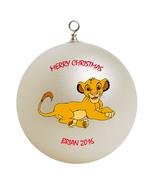 Personalized Lion King Simba Christmas Ornament Gift - $24.95