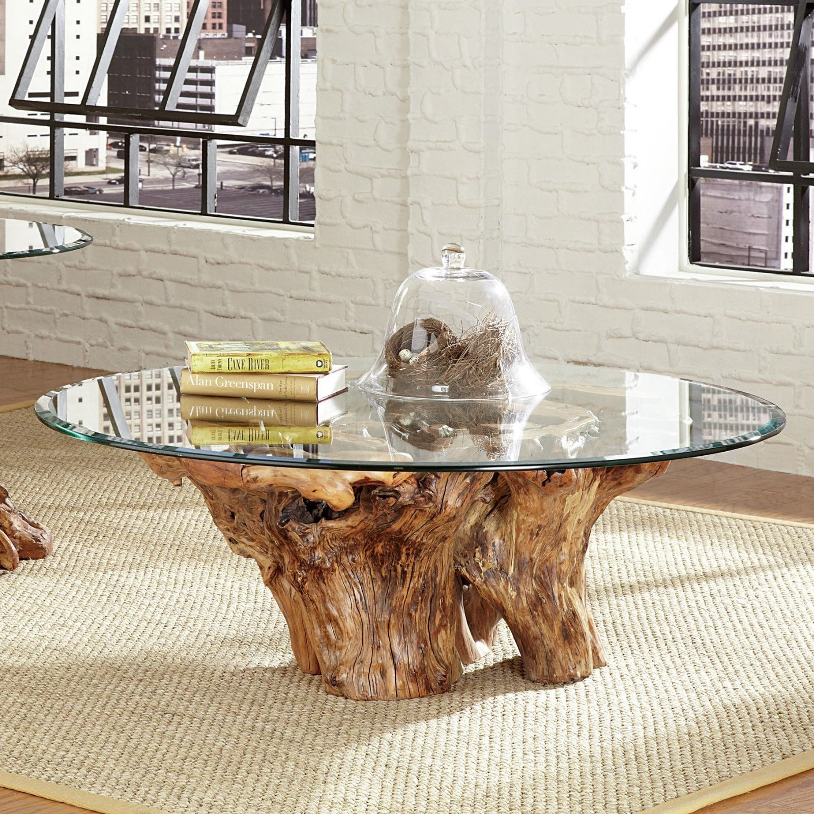 Amazon Teak Coffee Table: Amazing Natural Teak Root Ball Cocktail Coffee Table W