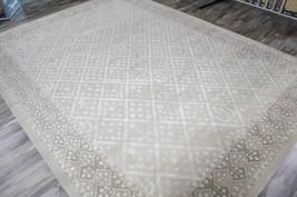 5x8 Nourison Symphony Traditional European Silver Grey Gray Wool Silk Ar... - $897.00