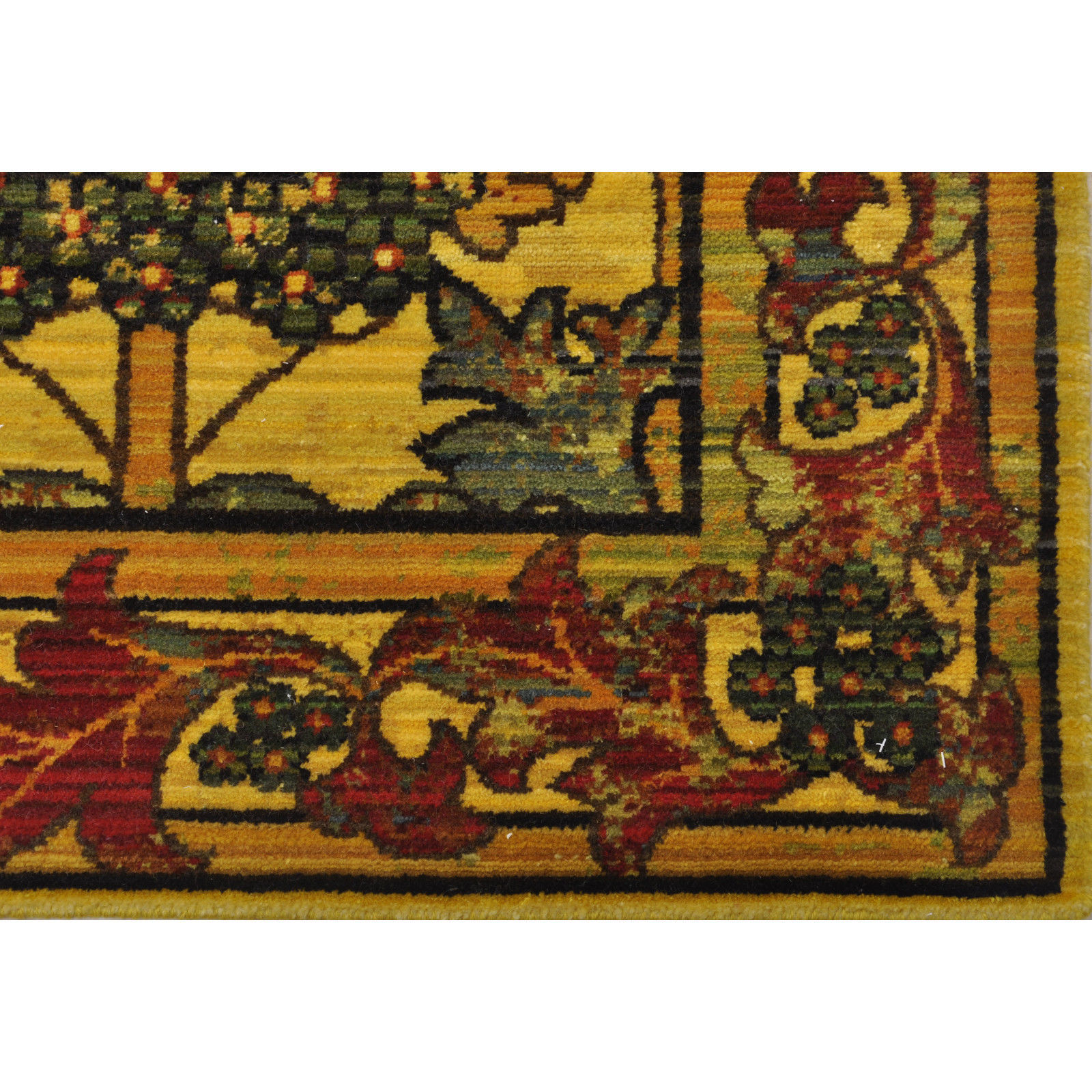 """10x13 (9'9"""" x 13') Nourison Timeless Arts & Crafts Mission Style Wool Area Rug"""