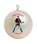 Personalized George Michael Christmas Ornament Gift - $24.95