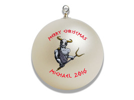 Personalized Greek God Hades Christmas Ornament Gift - $16.95