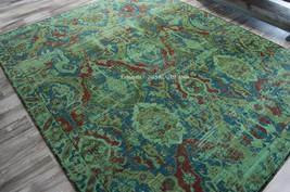 "10x13 (9'9"" x 13')  Designer Nourison Timeless Oriental Turquoise Wool A... - $3,179.00"