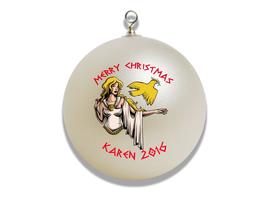 Personalized Greek God Aphrodite Christmas Ornament Gift - $16.95