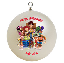 Personalized Toy Story Christmas Ornament Gift - $16.95