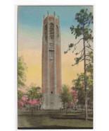 Singing Tower Lake Wales Florida handcolored postcard - $4.50