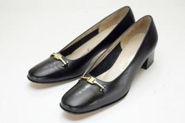 Salvatore Ferragamo 6.5 AAA Black Pumps Women's Shoes - $198.00