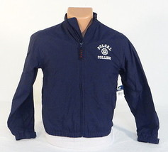 Polo Ralph Lauren Blue Zip Front Lined Nylon Jacket Youth Boys Small S 8... - $66.82