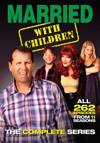 Primary image for Married With Children Complete TV Comedy Series 21 DVD Box Set New