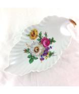 Old Nuremberg Bavaria Germany Vintage Floral Pattern Porcelain Dish  - $23.00