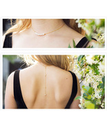 Cultured Freshwater Pearl Back Drop Necklace, G... - $76.25 - $116.00