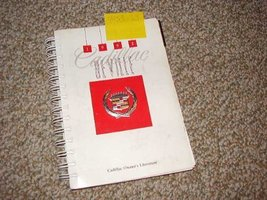 1992 Cadillac Deville Owners Manual [Paperback]... - $22.50
