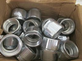 "(25) Thomas&Betts/Steel City EK-405 1-1/2"" 3-Piece Coupling, Zinc-Plated... - $123.75"