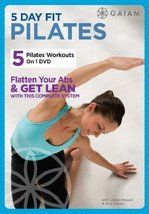 5 Day Fit Pilates by Gaiam - Fitness [DVD] - $9.69