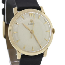 Vintage 1940s Rolex Solid 14k Yellow Gold Manua... - $2,467.96