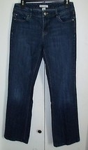 White House Black Market Bootcut Jeans Blanc 6 Reg (29 X 30 1/2) - $19.98