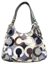 Coach 19180 Madison OP Art Sequined Maggie Grey... - $258.00