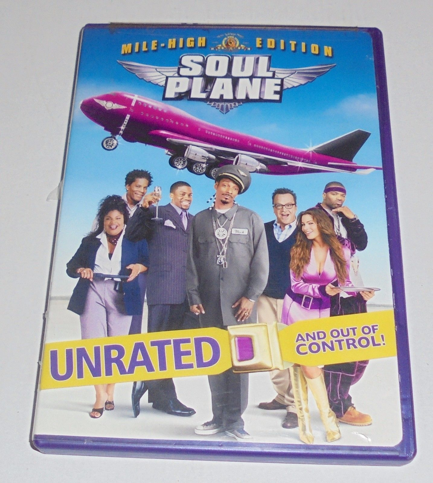Soul Plane (DVD, 2004, Unrated) Mile High Edition Snoop Dog