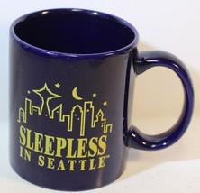 Sleepless in Seattle Blu Caffè Tazza 1999 Tristar Immagini Meg Ryan - $15.88