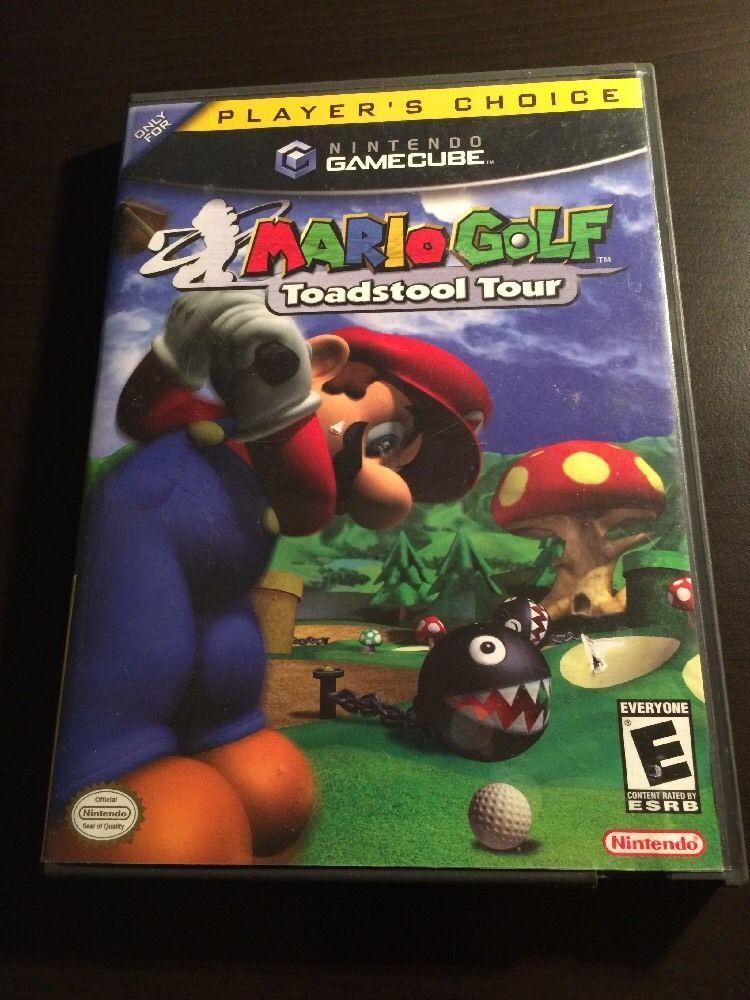 Mario Golf: Toadstool Tour (Nintendo GameCube) Golf Video Game
