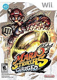 Mario Strikers Charged (Nintendo Wii, 2007) Soccer Video Game