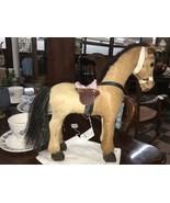 Folk Art Hide/Hair Horse with Horse Hair Tail - $130.00