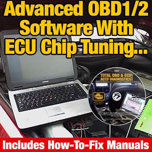 OBD & ECU Tuning, Scanner & Reader Diagnostics SOFTWARE