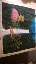 Asian Tapestry Waterfall Scene - $45.00