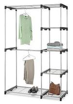 Whitmor 6779-3044 Double Rod Closet, Silver  - $103.77