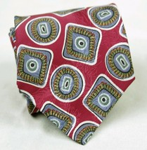 Christopher Hayes 100% Silk Mens Necktie  Geometric Design New with Tags - $8.62