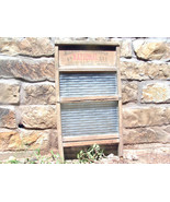 Old Antique Primitive NATIONAL 511 Washboard Wo... - $99.99