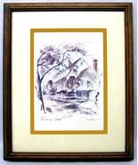 The Raleigh Tavern  Art Print Lithograph by John Hagerman - $16.00